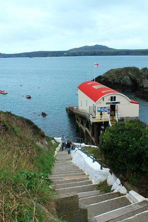Voyages of Discovery (Ramsey Island): St Justinian lifeboat station