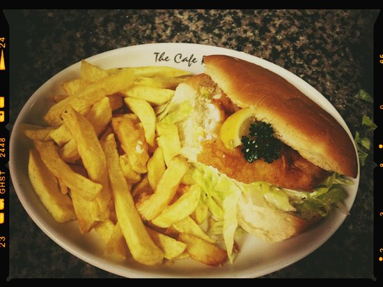 The Cafe Royal: Fillet Of Fish Sandwich