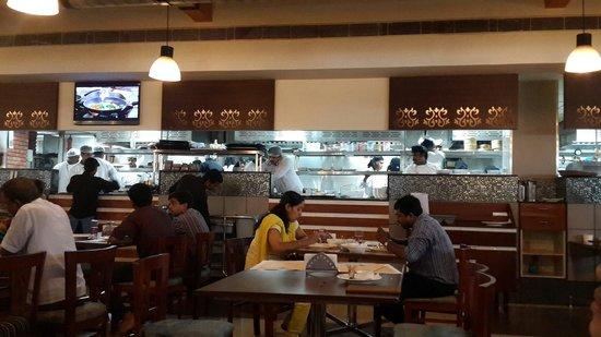 Live kitchen - Picture of M-Grill, Kozhikode - TripAdvisor
