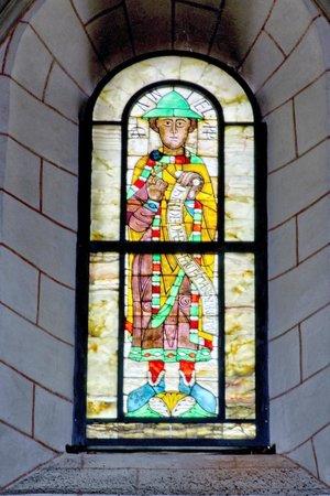 Dom St. Maria: vetrata profeti