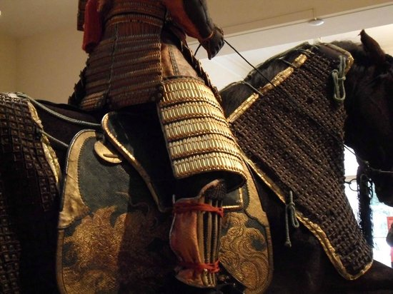 Portland Art Museum: Samurai and horse fully clad