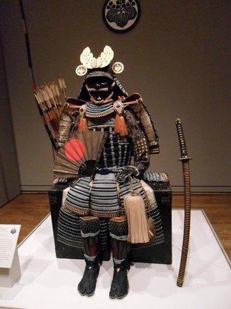 Portland Art Museum: Samurai armor and sword