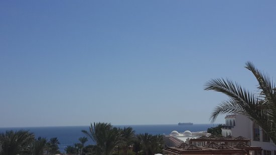 Savoy Sharm El Sheikh: Sea view at my room 5109