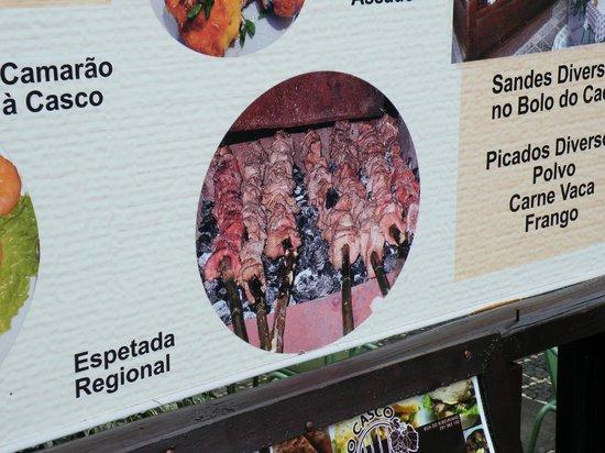 "O Casco: szaszłyki z espetady-ryby"" a la węgorz"""