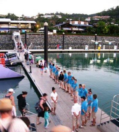 Cruise Whitsundays: The crew line-up