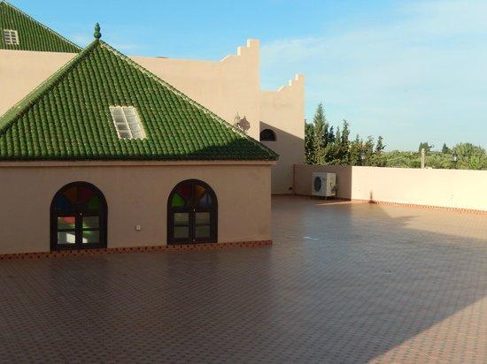 Riad Qodwa: Roof