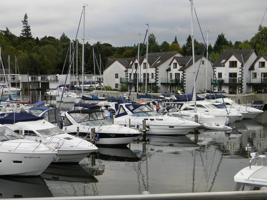Windermere Marina Village: View from the balcony