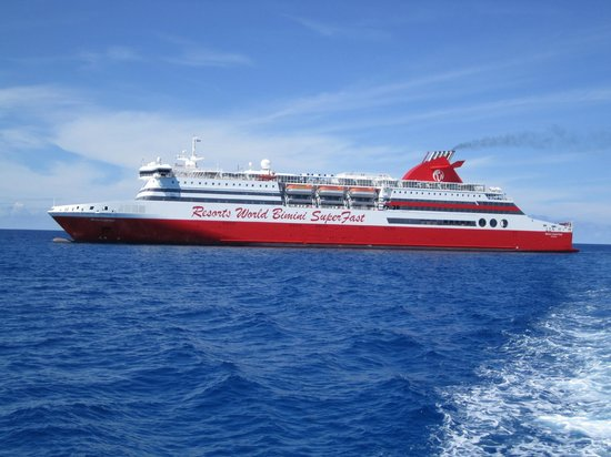 Resorts World Bimini: On the Tender