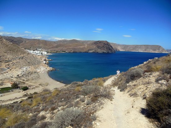 Bitacora: Las Negras - view from next beach