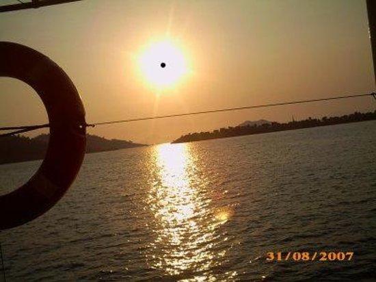 Hisar Holiday Club: Beautiful Sunset In Olu-De-Niz
