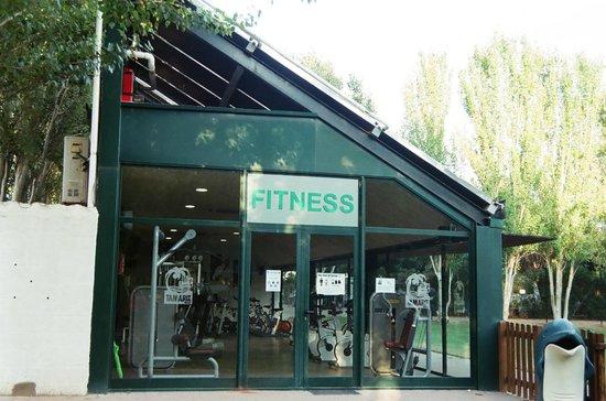 Tamarit Beach Resort: sala de fitness