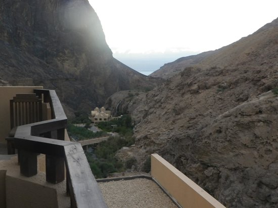 Ma'In Hot Springs: View from the room