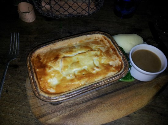 The Pig: The steak pie. Delicious