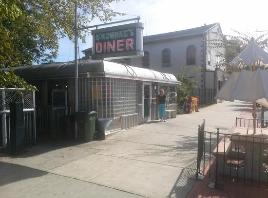 O'Rourke's Diner: View from the street