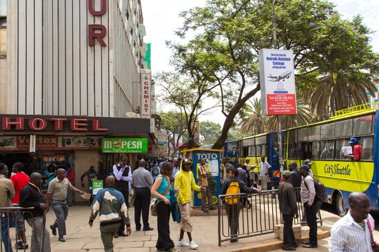 Half-Day Walking Tour: Nairobi Experience: Downtown streets of Nairobi CBD