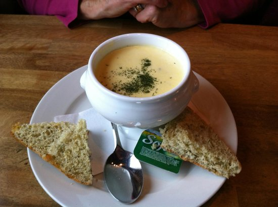 Corner Cafe: the House fish soup