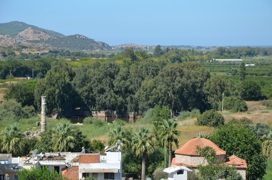Homeros Pension & Guesthouse: View from the rooftop