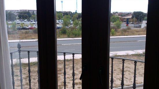 Hotel II Castillas: Vista desde Hab