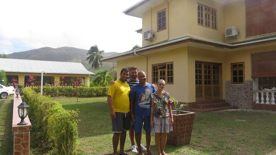 Villa Cocotier : familly picture