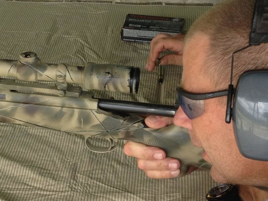 Florida Firearms Adventures : Sniper gun