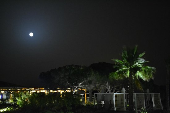 EPIC SANA Algarve Hotel : Repas romantique à la pleine lune