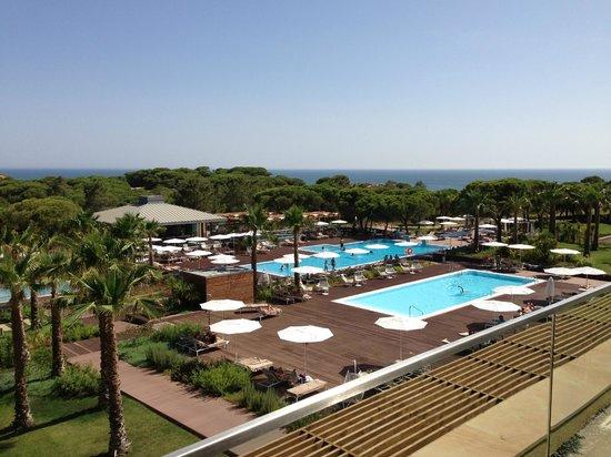 EPIC SANA Algarve Hotel : Vue de la salle de massage