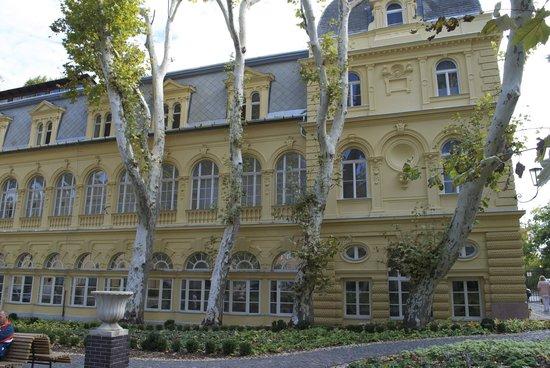 Lukacs Baths: Actual building