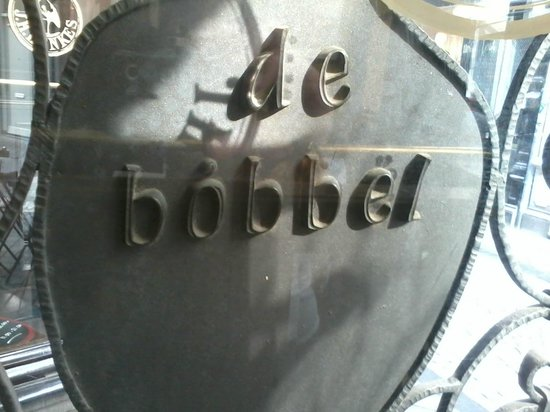Cafe De Bobbel: Het Logo..