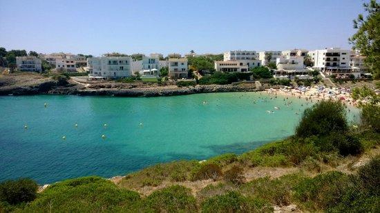 Aparthotel JS Es Corso: Cala Marsal beach , five minute walk away..