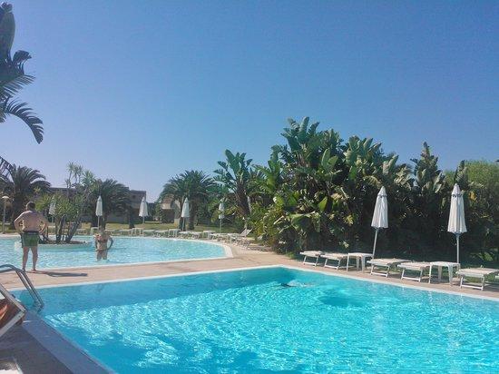 VOI Arenella resort: piscina della spa