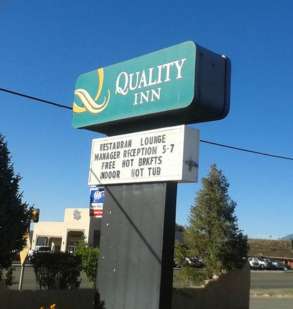 Quality Inn : Manager's Reception Does Not Exist.