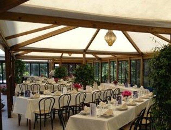 La Dimora di Vitorchiano: Spazio ristorazione esterno