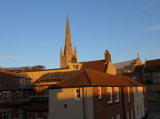 Norwich Serviced Apartments: View from the sitting room window.