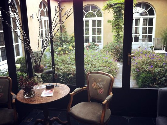 Hotel Ter Duinen: Sitting area
