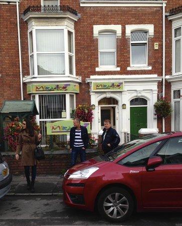 The Mirador Boutique Town House - Swansea : The entrance