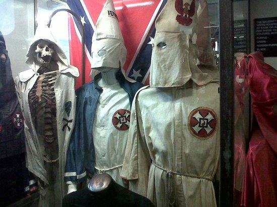 Littledean Jail Museum: KKK