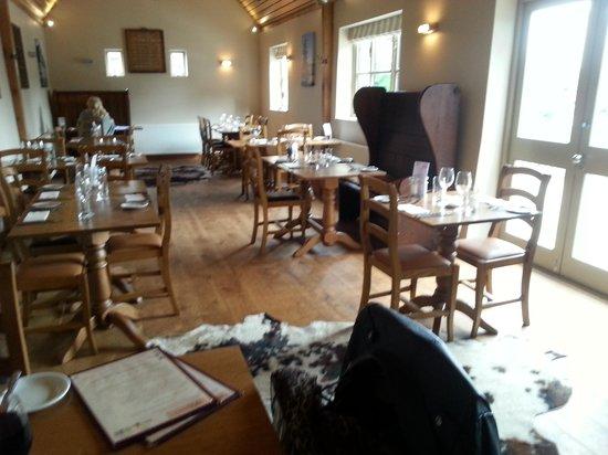 The Black Bull Inn Balsham: dining room