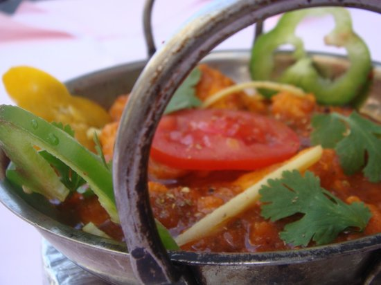 Indian Palace: Curry Gericht (curry dish)