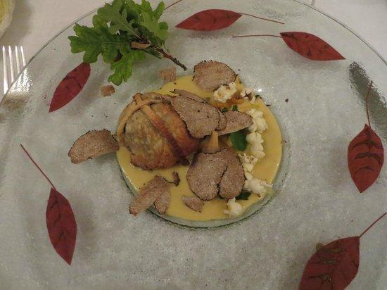 Restaurant Edouard Loubet** : Truffles with popcorn!