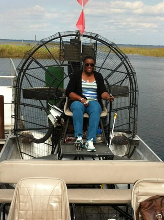Boggy Creek Airboat Rides: Will do it again