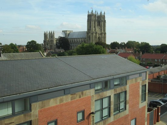 St. Mary's Church Beverley: View of the Minster from East Riding Treasure House.