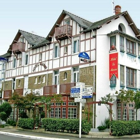 Marini Hotel : Le Marini bâtiment de style