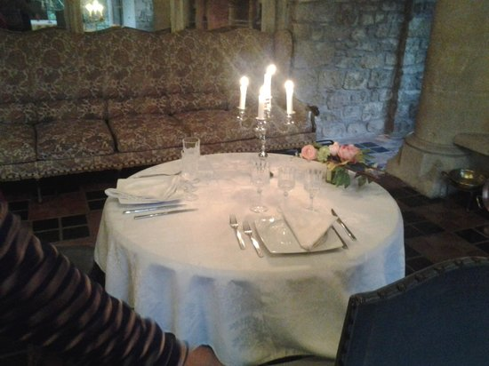 Hattonchatel Chateau : dining hall