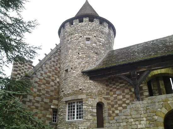 Hattonchatel Chateau : our tower accommodation