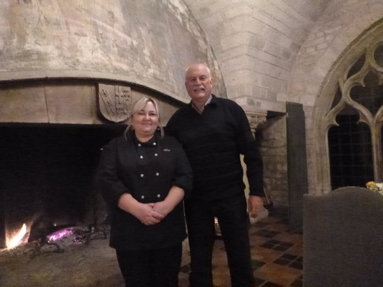 Hattonchatel Chateau : chef Aline and me