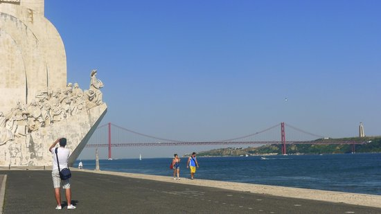 Lisbon Stories: Shore of the river Tagus in Belem, Lisbon