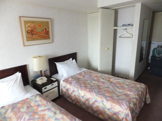 Sunshine City Prince Hotel: the double-bed