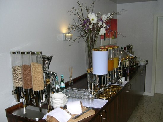 Hotel Garni Amethyst: Frühstücksbuffet