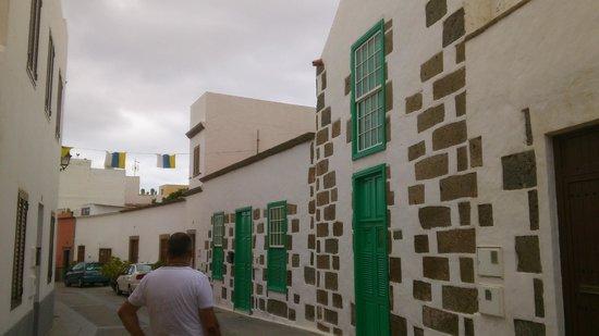 Hotel Rural Casa de los Camellos: façades de maisons à Aguimès