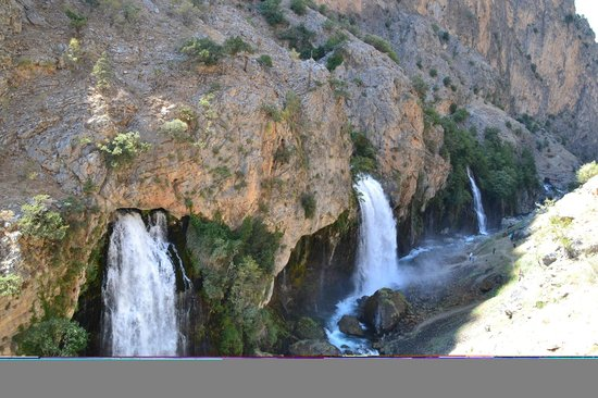Kapuzbasi Selaleleri : Panoramic view